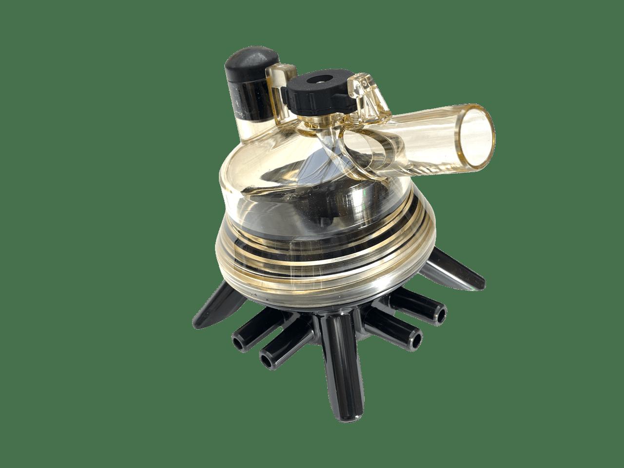 Sammelstück, Minimilker, geeignet für HCC 150 Kunststoff, schwarz